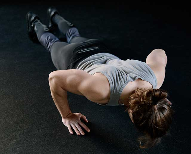Push-ups-a-great-weight-loss-workout-at-home
